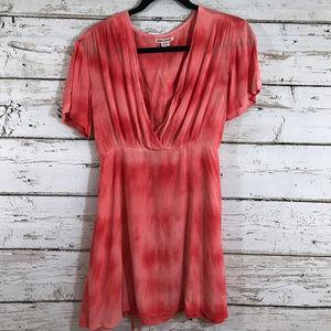 Billabong Pink Tie Die Dress